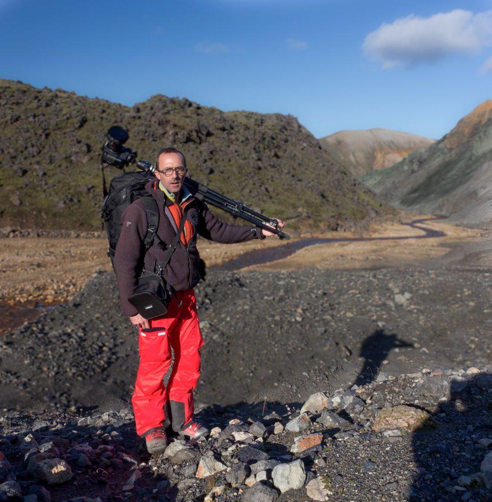 Jean-Gabriel Soula photo de Vincent Jourdain, Islande Landmmanalaugar